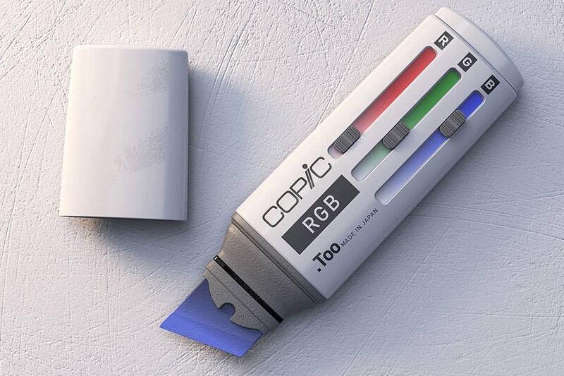 Sliding RGB Control Markers