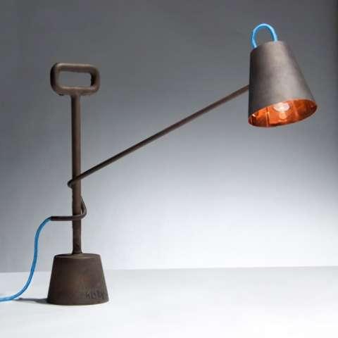 Precious Metal Desk Lamps