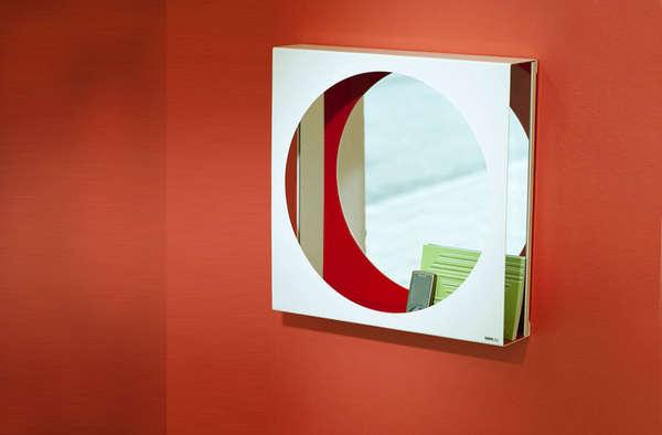 Geometric Cubby Reflectors