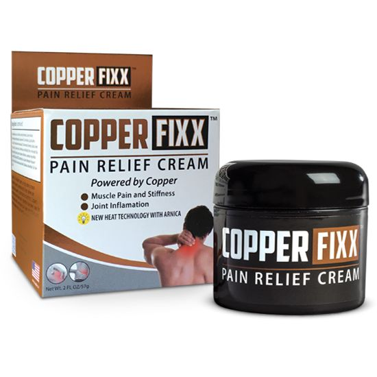 Copper-Infused Pain Creams