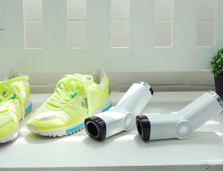 Hygienic Shoe-Sterilizing Appliances