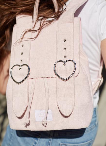 Ultra-Adorable Corduroy Backpacks