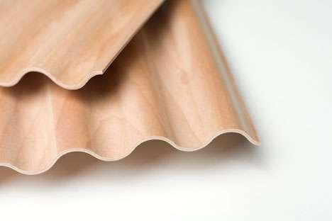 Cutting-Edge Corrugated Lumber