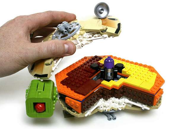 Toy Brick Burgers : Corellian Cheeseburger