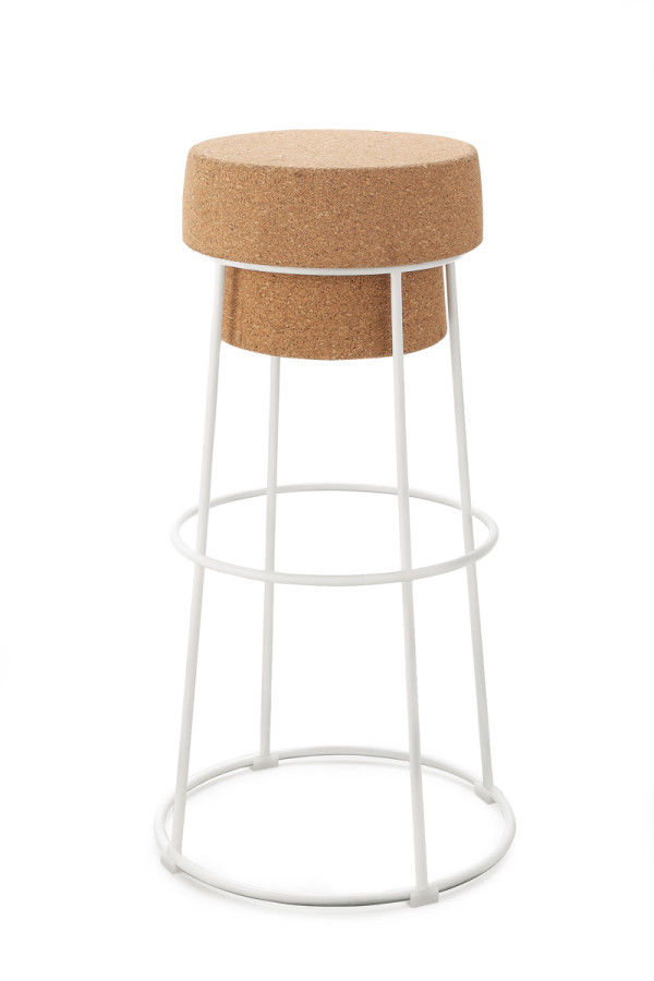 Champagne Cork Seating Cork Bar Stool