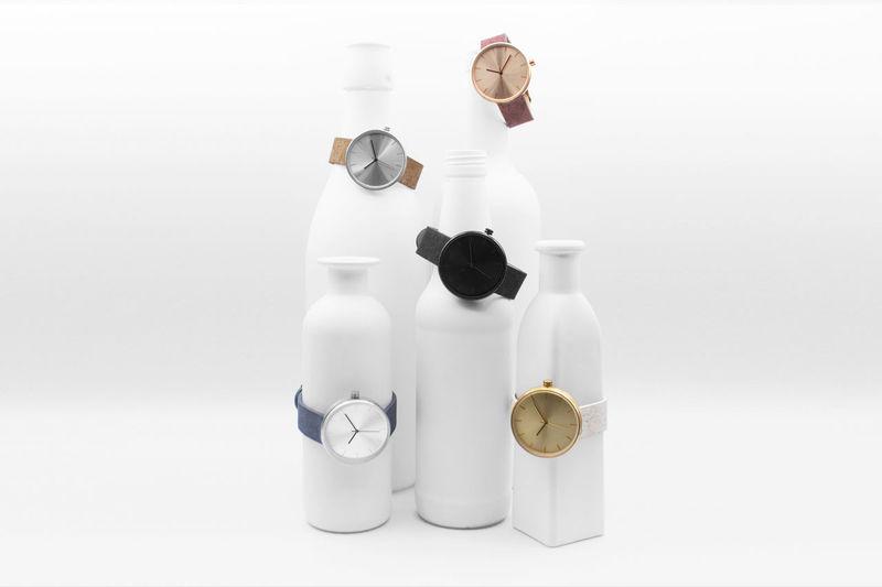 Sleek Dyed Cork Watches