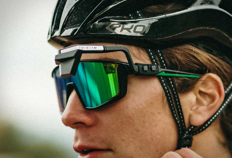 Eye-Mounted Rearview Cyclist Mirrors