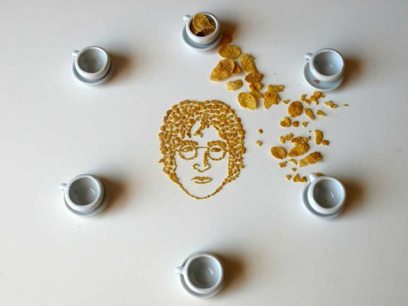 Cereal Celebrity Portraits