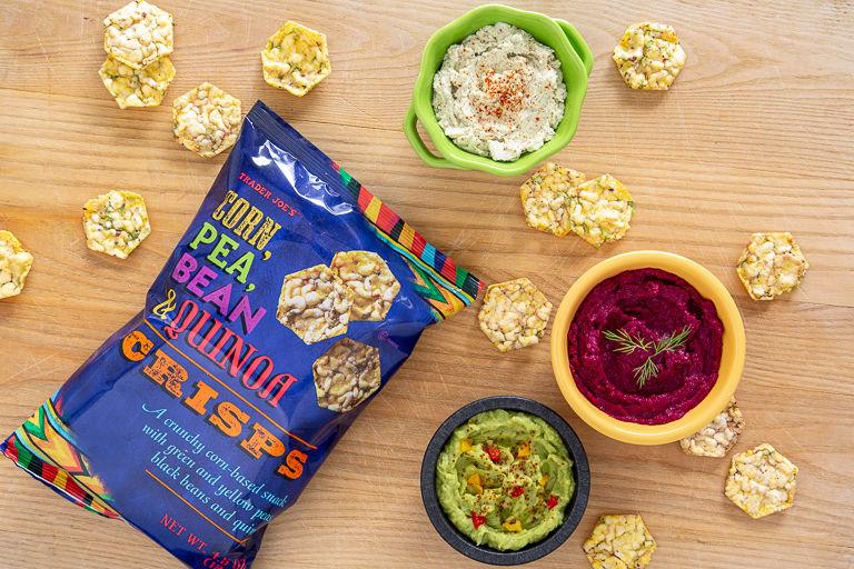 Multi-Veggie Quinoa Chips