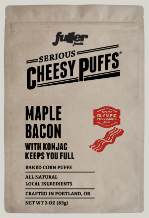 Maple Bacon Cheese Puffs