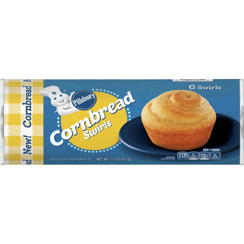 Ready-to-Bake Cornbread Rounds