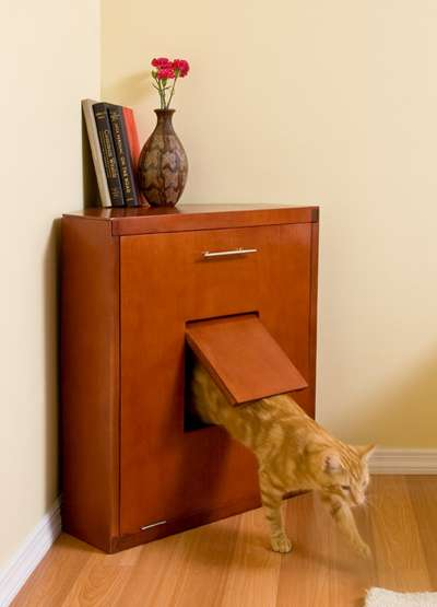Concealed Litter Boxes