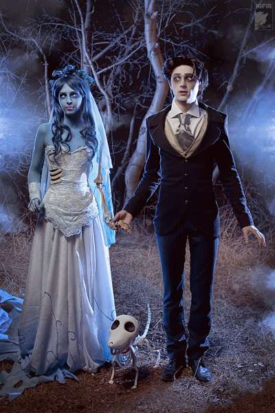 Creepy Cosplay Couples Corpse Bride Cosplay
