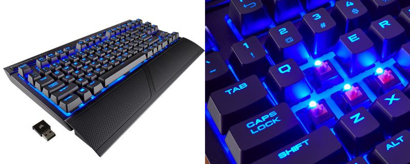 35b1864f637 Wireless Mechanical Gaming Keyboards : corsair K63