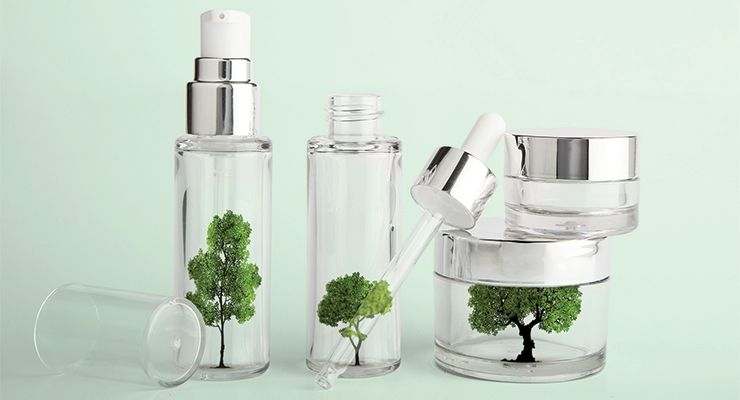 Sustainable Cosmetics Containers
