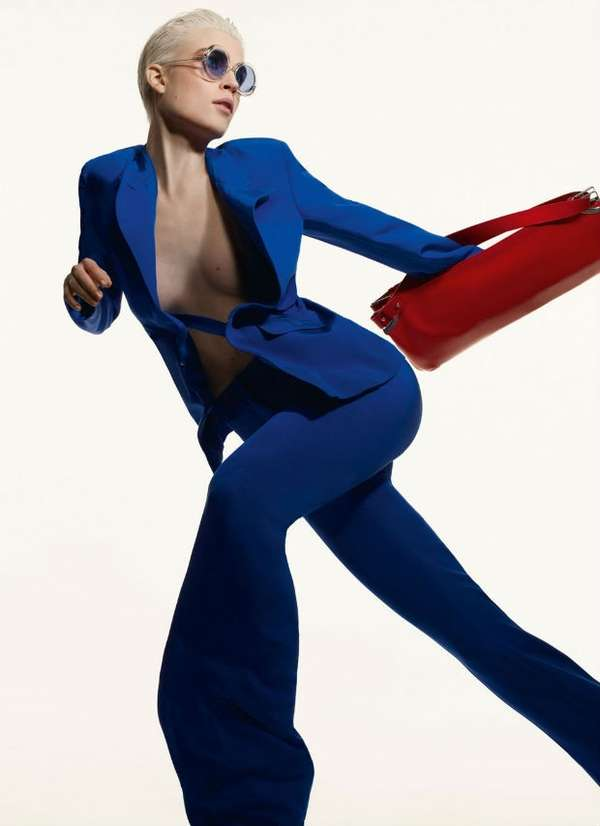 Color-Blocking Fashion Campaigns