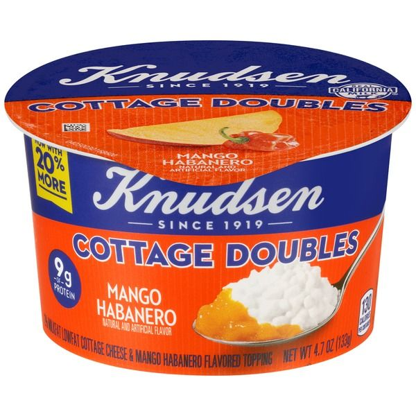Piquant Cottage Cheese Pots