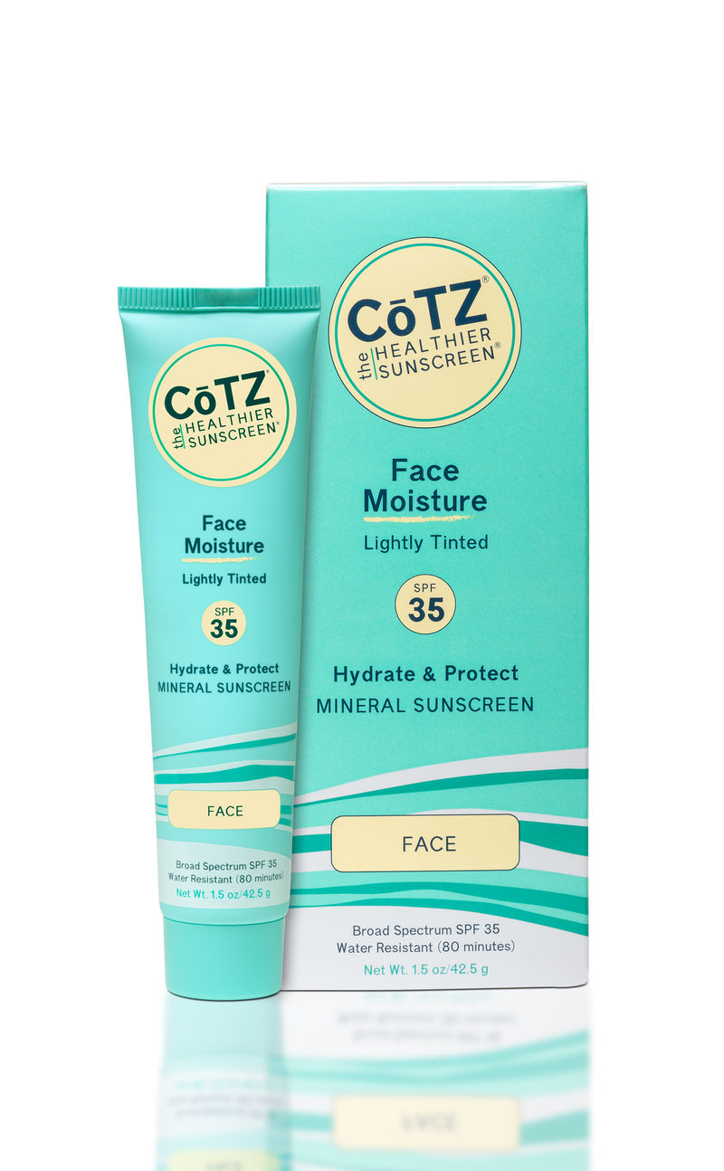 Reef-Safe Moisturizing Sunscreens
