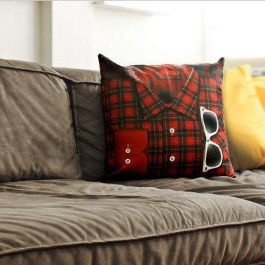 Hipster Shirt Cushions