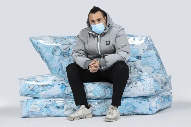 Disposable Mask-Filled Furniture