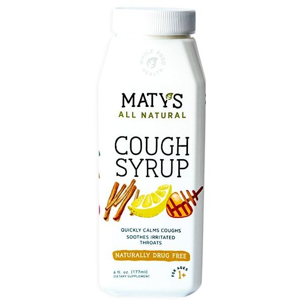 Drug-Free Cough Syrups