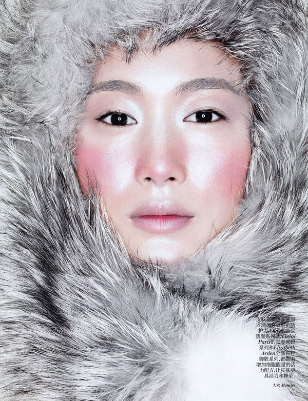 Eskimo-inspired Beauty Editorials
