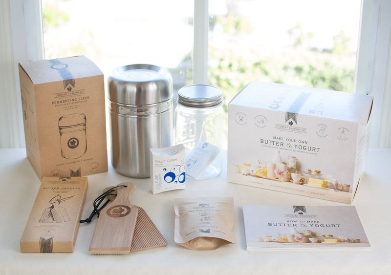 At-Home Butter-Making Kits : Country Trading Co