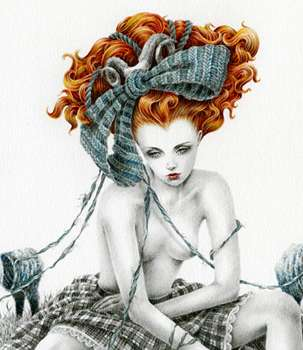 Fairytale Redhead Illustrations