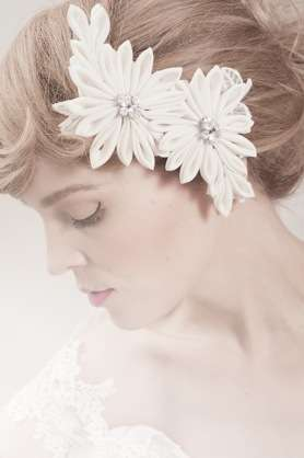 Upcycled Bridal Headpieces