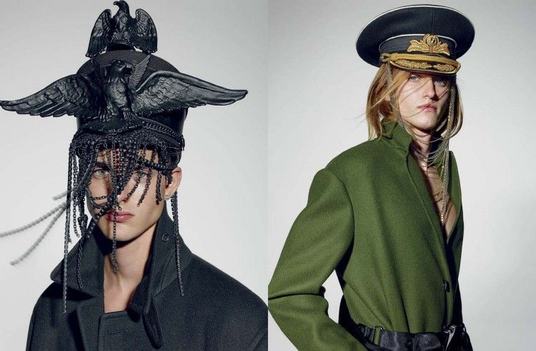 Militant Couture Editorials