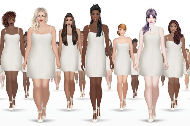 Body-Positive Fashion Games