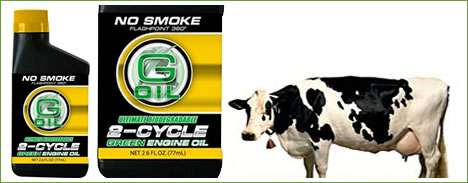 Cow Fat Motor Oil