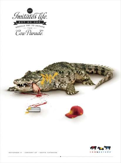 Human-Devouring Animal Ads