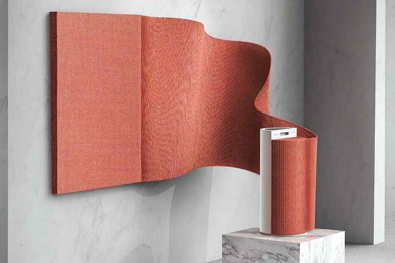 Tactile Artistic Air Purifiers