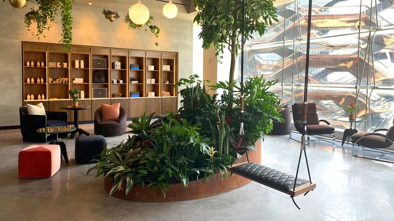 Nature-Infused Co-Working Spas