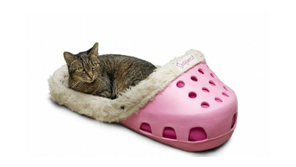 Cozy Slipper-Inspired Pet Beds