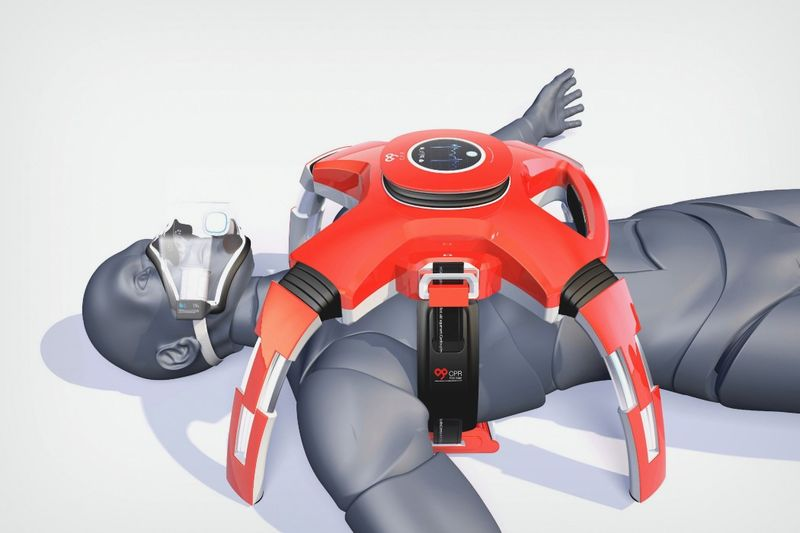 Automated Guidance CPR Robots