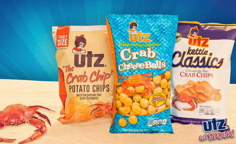 Seafood-Flavored Cheese Snacks