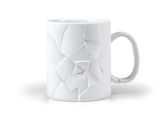 Fragmented Coffee Cups