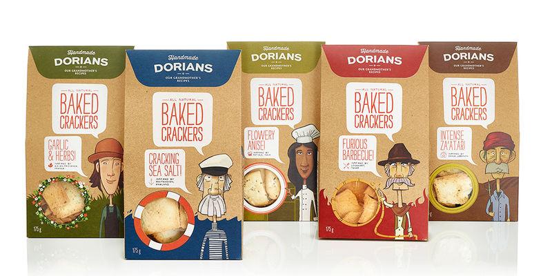 Sensible Snack Packaging Crackers Packaging