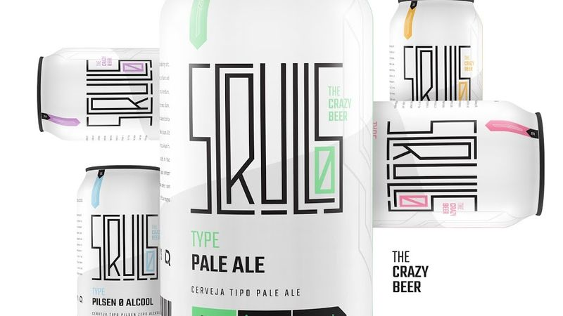 Minimalist Craft Beer Cans
