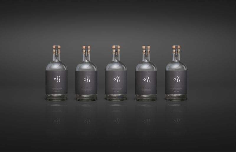 Double-Sided Vodka Bottles