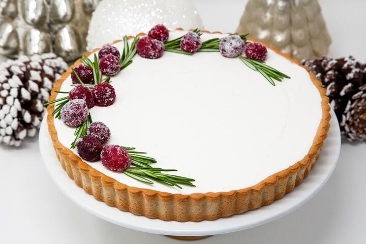Festively Decorated Rich Tarts