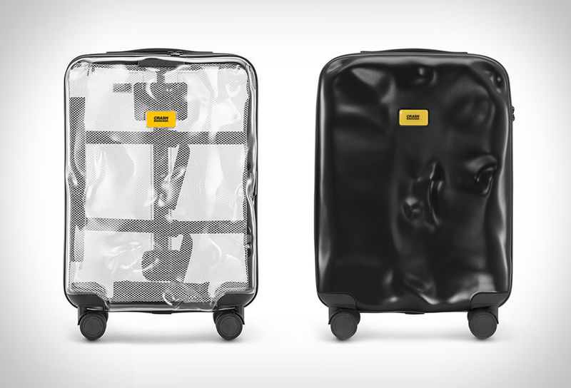 Pre-Damaged Carry-On Luggage