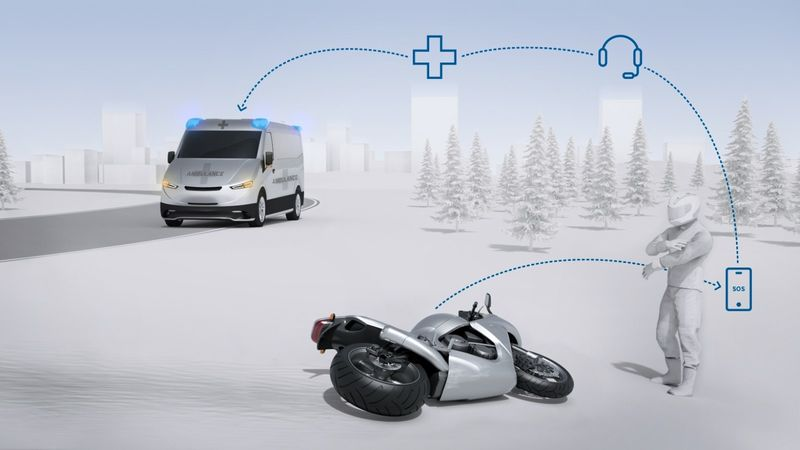 Motorcycle Crash Detection Systems
