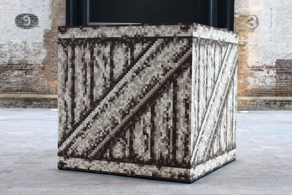 Pixelated Box Installations