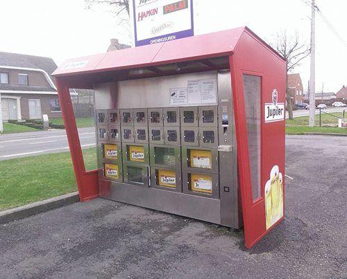Beer-Dispensing Vending Machines