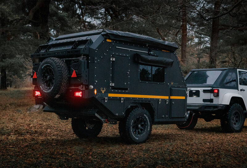 Ruggedized Off-Road Camping Trailers