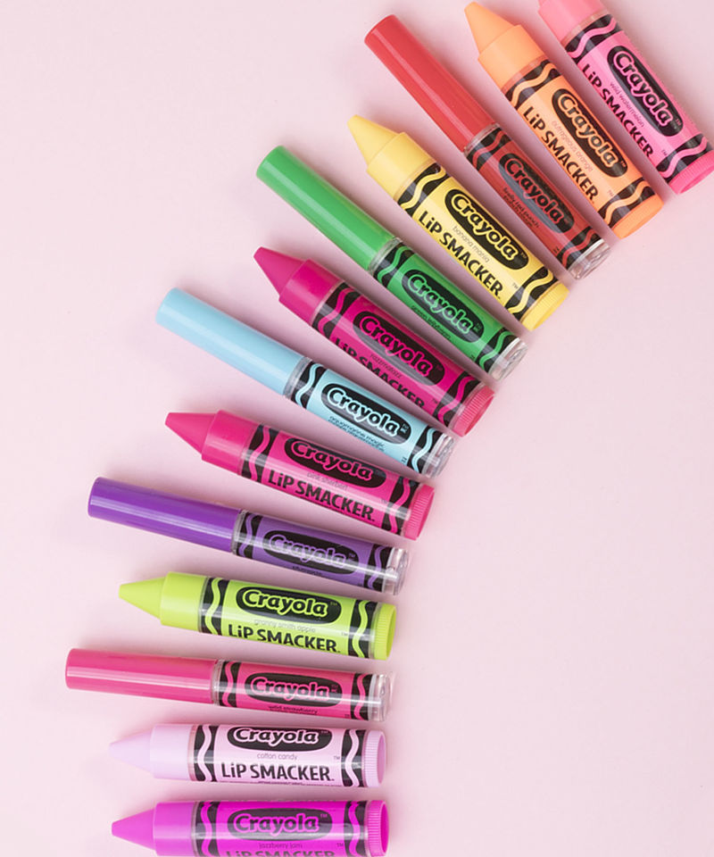 Crayon-Inspired Lip Cosmetics