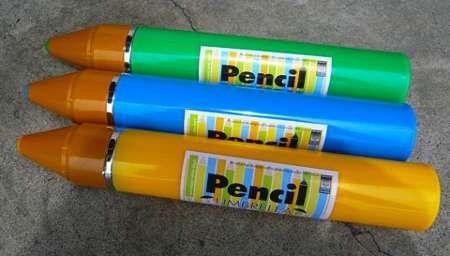 Pencil Crayon Parasols